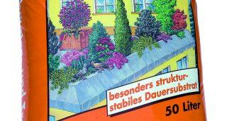 Balkon- und Terrassensubstrat, Blumenerde für Gräser
