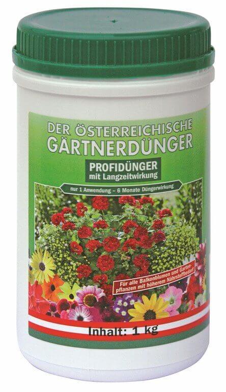 Gräserdünger organisch für Terrasse und Balkon oder Sichtschutzhecke