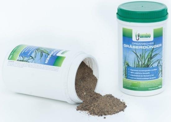 Organischer Dünger für Gräser