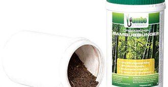 Bambusdünger, Dosen, Inhalt Pulver